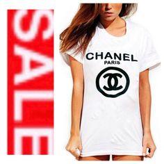 Chanel tshirt, Chanel plus size tshirt, plus size t-shirts, All inspired tshirts on Etsy, $12.95