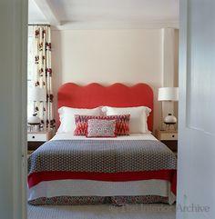 Tom Scheerer ~ Glimpse through an open door into a guest bedroom in Nantucket