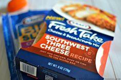 Southwest Three Cheese #KraftFreshTake
