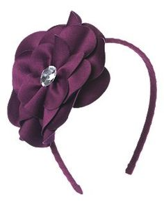 G - Gem Flower Headband