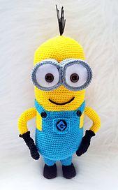 Ravelry: Crochet Minion Pattern Despicable Me 2 pattern by Laila Saide