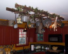 Primitive Kitchen Decor | Primitive kitchen - Kitchen Designs - Decorating Ideas - HGTV Rate My ...