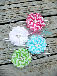 Baby Headbands by LovelyLiliesBoutique