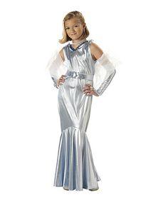 Look at this #zulilyfind! Silver Glamorous Starlet Dress-Up Set - Girls #zulilyfinds