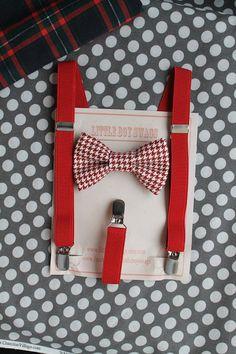 red+bow+tie+suspenders+set+boy+bow+tie+suspenders+by+LittleBoySwag,+$29.00