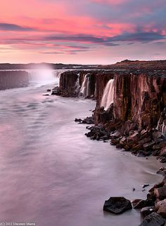 Selfoss Waterfall, Iceland  <> Thank you for my trip Hotelrade.com