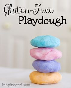 How to make gluten-free playdough via inspiredrd.com