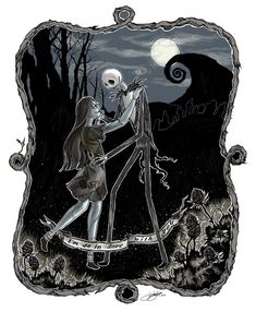 Nightmare Before Christmas Love by galazy on deviantART