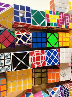 Levitating Rubik's Cube Collection
