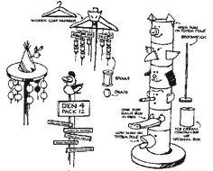 Cub Scout den doodle ideas