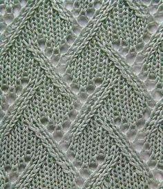 Узор - Ложный плётёный узор (lovely stitch, need pattern in English-cn)