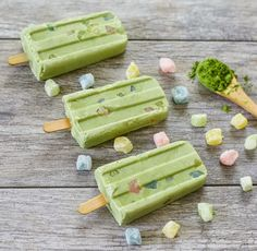 Matcha Mochi Popsicles | Kirbie's Cravings | A San Diego food blog