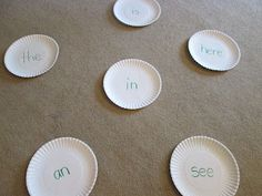Fun Game to play with your kids homework - great for sight words in kindergarten but can be adapted to other lessons