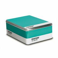 Amazon.com - Pantone Metal Storage Box Turquoise 15-5519 -
