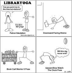 Library Yoga