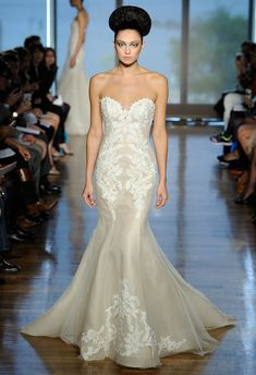 Gorgeous shape! Ines Di Santo Collection Spring 2014 Wedding Dresses