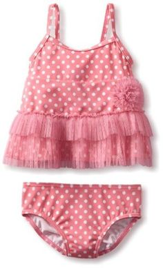 Little Me Baby-girls Infant Dot 2 Piece Swimsuit:Amazon:Clothing