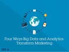 Slideshare: Are you ready to put big data and analytics to work for your marketing strategy? Learn four effective ways to enhance your customer relationships. http://bit.ly/1oXU3Pi