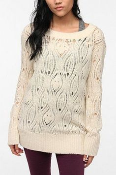 Long sweater for leggings.