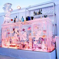 weddings, ice bar, recept idea
