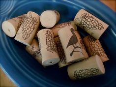 {Replacing the Rubber Duck} Let's Lasso the Moon Tip: Wine corks make excellent tub toys. Trust me, start a collection and your kids will thank you.