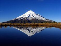 Mt. Taranaki, North Island