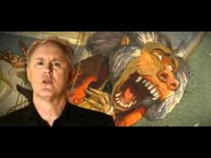 John Lithgow wrote the book Carnival of animals. This is him reading it with pictures from book in the back.