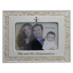 """Me & My Godparents Photo Frame,  $30.95 