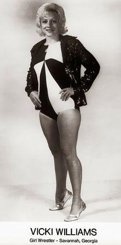 Womens Pro Wrestling: Vicki Williams - Classic Female Wrestling