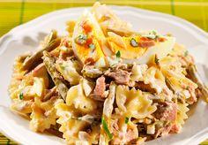Sałatka z kokardkami/ Salad with bow's, www.winiary.pl
