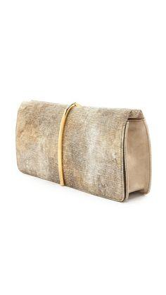 Nina Ricci 金属色皮革手包