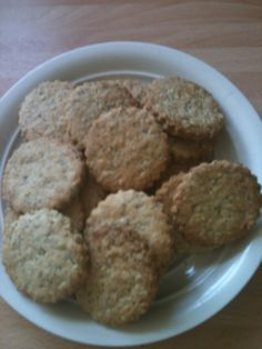 ... , these were fab savoury biscuits which my husband loved with cheese