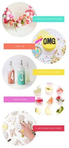 Favorite Party Ideas This Week | Oh Happy Day!