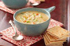 Velvety Vegetable-Cheese Soup recipe