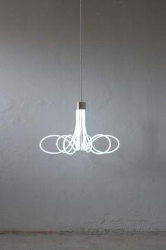 neon chandelier • boa design studio