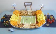 "Edible Football Stadium: ""Snackadium""!"