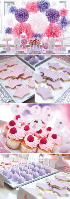 Princess_CandyBuffet cupcak, baby shower ideas, background, fiesta, princess parti, baby shower niñas, parti idea, babi shower, baby showers