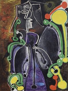 Picasso - Femme assise (1949)