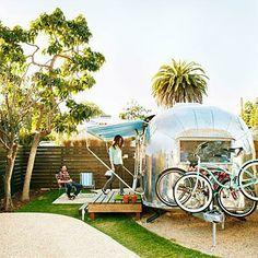 Airstream hotel in Santa Barbara
