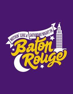 Saturday Night in Baton Rouge