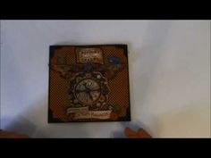 Steampunk Spells card series 4 -  tutorial #graphic45 #video