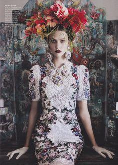 Karlie Kloss in Vogue July 2012.