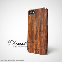 Wood iPhone 4s case case by Decouart