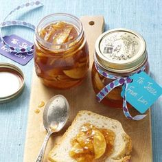 Apple Pie Jam Recipe from Taste of Home @Christina Childress Goebel and @Kirsty Smith Papadopulos - come over and let's make this. Sounds very easy and quick.