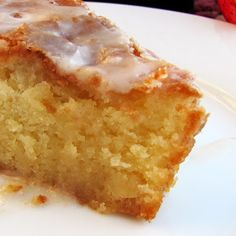 Rumbly In My Tumbly: Sparkling Apple Cider Cake with Sparkling Cider Glaze