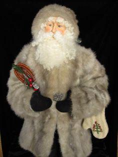 View 2. Santa in fur coat.