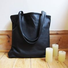 scout&catalogue simple leather tote -$148
