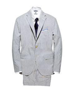 seersucker suit, because he's a southern gentleman at heart.