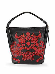 Isabella Fiore - Bohemian Rhapsody Leather Hobo