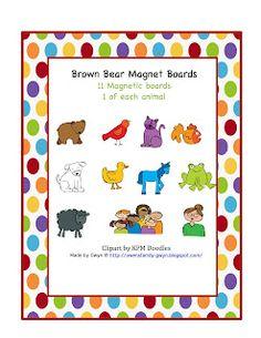 Brown Bear Magnet Mats  $0.99